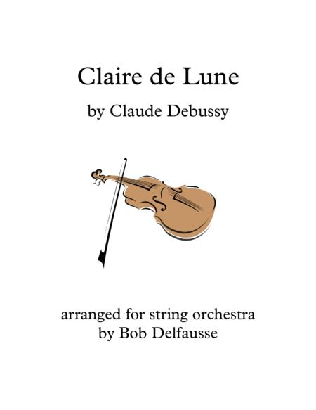 Debussy's Claire de Lune for string orchestra