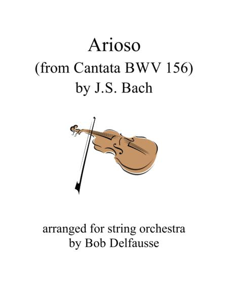 J.S. Bach Arioso, for string orchestra