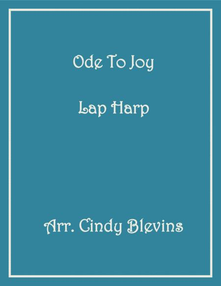 Ode To Joy, arranged for Lap Harp, from my book