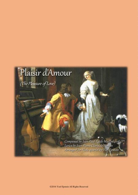 Plaisir D'amour - Classic love song arranged for Flute Choir
