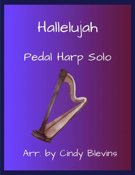 Hallelujah, arranged for Pedal Harp