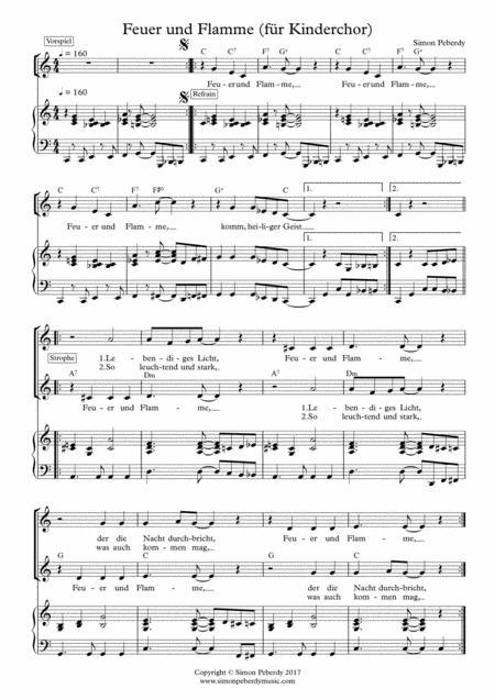 Kinderchorlieder - eine Liedersammlung (Children's Choir Collection by Simon Peberdy)