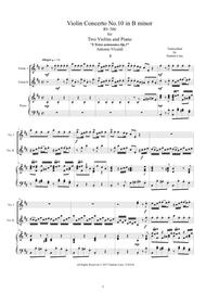 Concerto in B Minor, Op. 3, No. 10, RV580 from