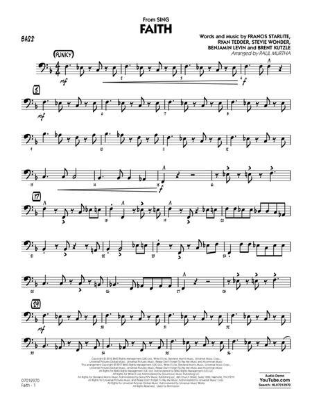 Faith (from Sing) - Bass