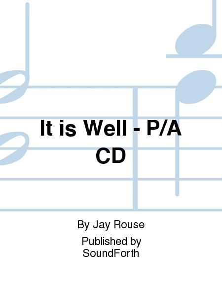 It is Well - Performance/Accompaniment CD