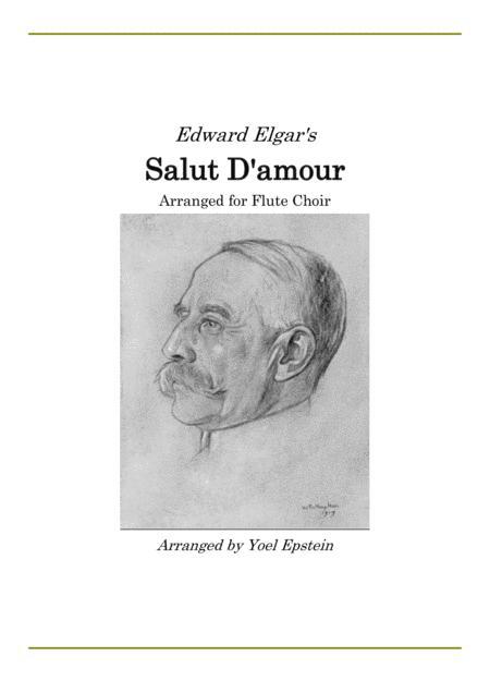 Salut D'Amour - Classic love song arranged for Flute Choir