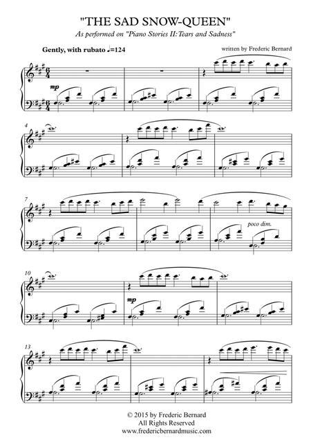 The Sad Snow-Queen (Melancholic Solo Piano)