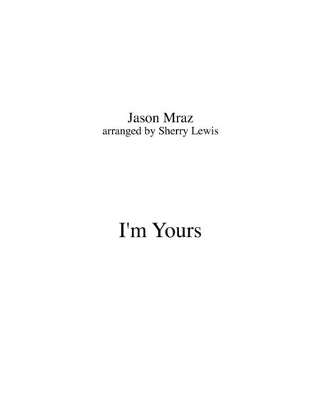 Download I\'m Yours For STRING QUARTET, String Trio, String Duo, Solo ...