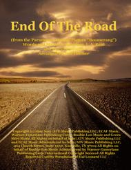 End Of The Road  from the Paramount Motion Picture BOOMERANG