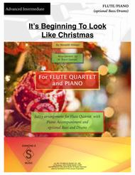 It's Beginning To Look Like Christmas - FLUTE QUARTET and PIANO