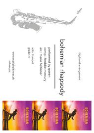 Bohemian Rhapsody - Queen, comp. Freddie Mercury - Jazz Ensemble - score & parts