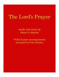 The Lord's Prayer - Violin & Piano Accompaniment