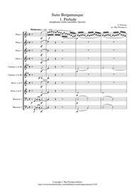 Debussy: Suite Bergamasque Mvt.1 Prelude - wind dectet