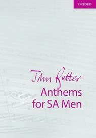 John Rutter Anthems for SA Men