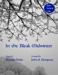 In the Bleak Midwinter (Trio for Flute, Violin and Cello)