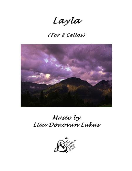 Layla - for 8 Cellos
