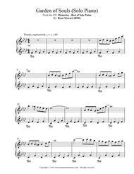 Garden Of Souls (Solo Piano)