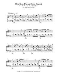 One Step Closer (Solo Piano)