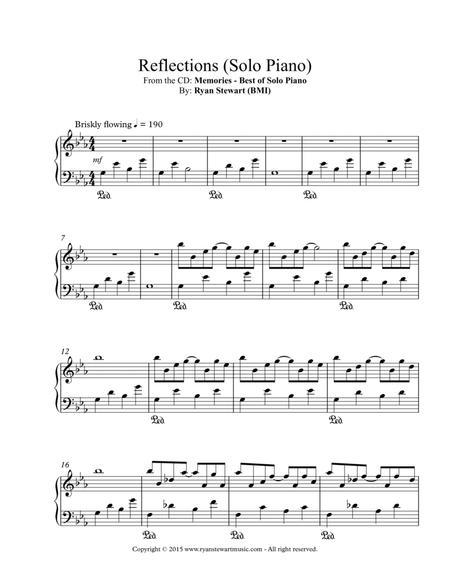 Reflections (Solo Piano)