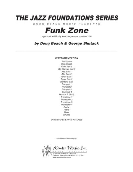 Funk Zone - Full Score