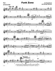 Funk Zone - 1st Eb Alto Saxophone