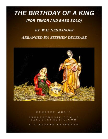 The Birthday Of A King (Duet for Tenor and Bass Solo)