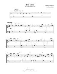 Für Elise - for 2-octave handbell choir