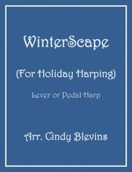 Winterscape, a book of 16 seasonal arrangements for Lever or Pedal Harp