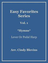 Easy Favorites, Hymns, a book of 14 beautiful arrangements for nearly all harps