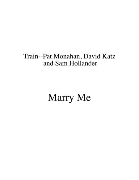 Marry Me by Train for STRING DUO arranged by Sherry Lewis