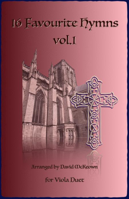 16 Favourite Hymns Vol.1 for Viola Duet