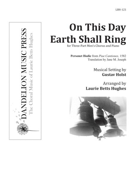 On This Day Earth Shall Ring (Personet Hodie) [Three-Part Men's Choir]
