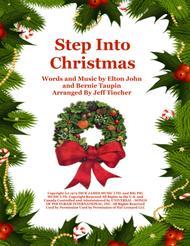 Elton John Step Into Christmas.Download Step Into Christmas Sheet Music By Elton John