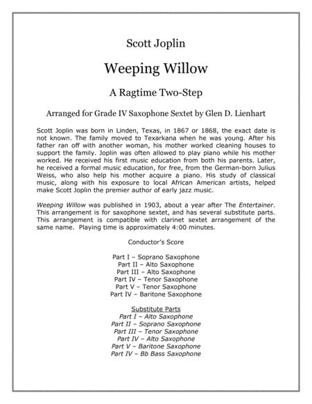 Weeping Willow (Saxophones)