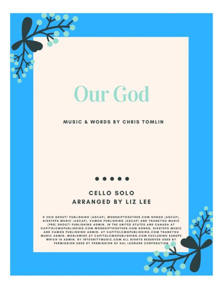 Our God by Chris Tomlin arranged by Liz Lee