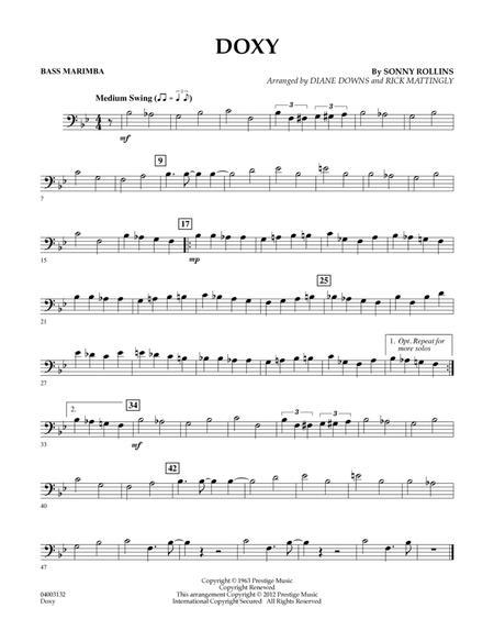 Doxy - Bass Marimba