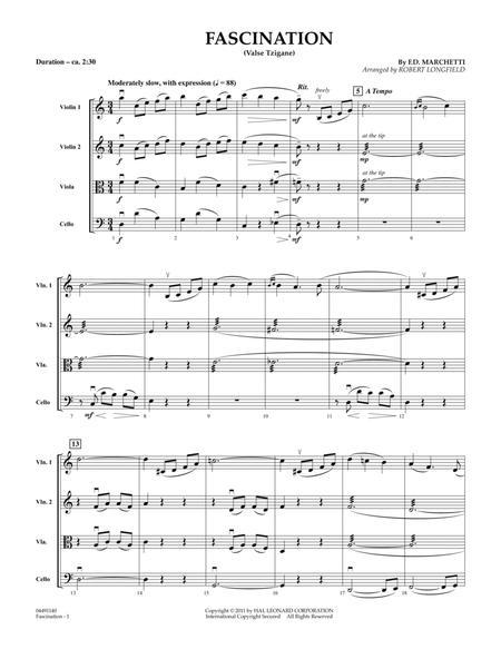 Fascination (Valse Tzigane) - Conductor Score (Full Score)