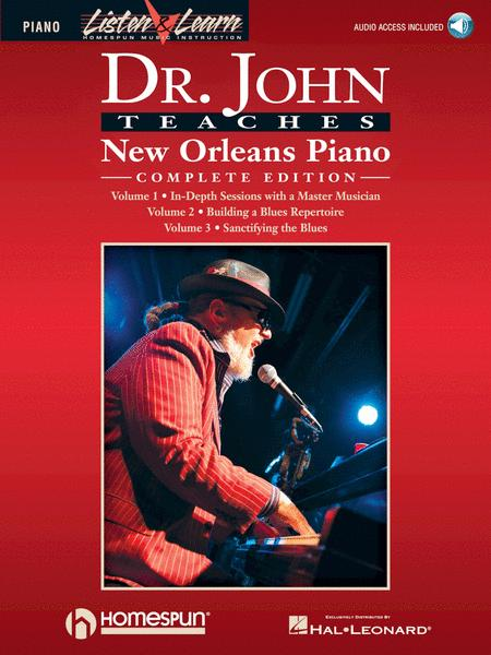 Dr. John Teaches New Orleans Piano - Complete Edition