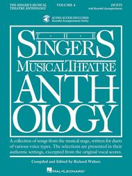 The Singer's Musical Theatre Anthology: Duets, Volume 4 - Book/Online Audio