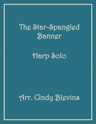The Star-Spangled Banner, arranged for Lap Harp, from my book Feast of Favorites, Vol. 3