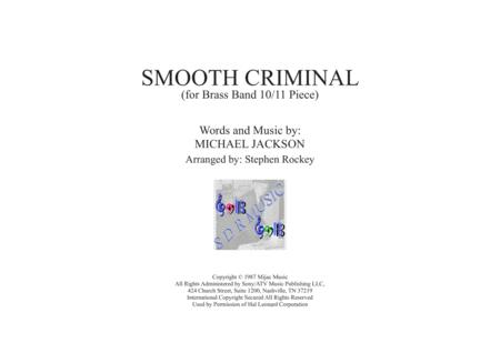 Smooth Criminal for Brass 10/11 piece and percussion