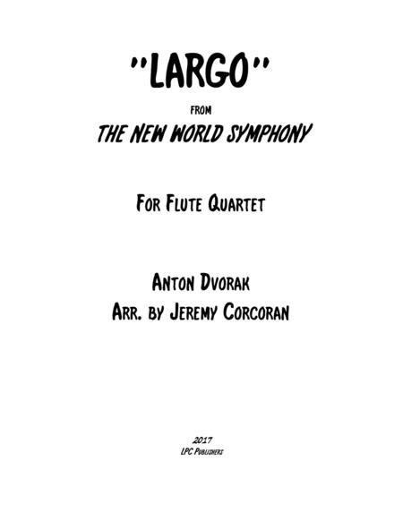 Largo from The New World Symphony for Flute Quartet