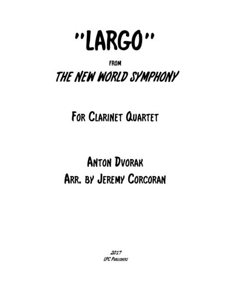 Largo from The New World Symphony for Clarinet Quartet