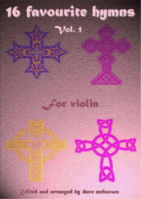 16 Favourite Hymns Vol.1 for solo Violin