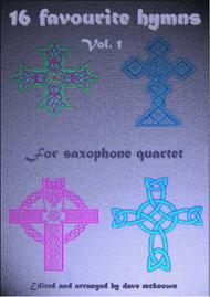 16 Hymns for Saxophone Quartet (Vol 1.)