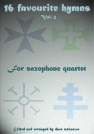 16 Hymns for Saxophone Quartet (Vol 2.)