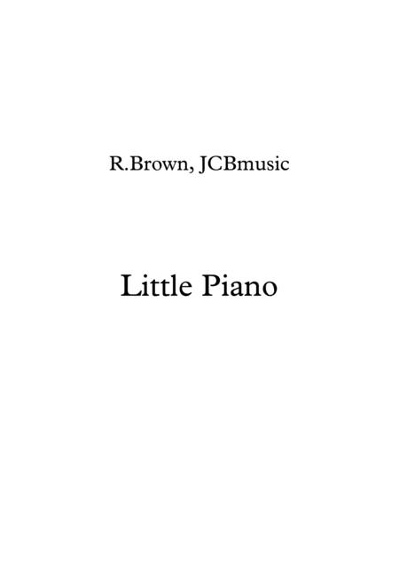 Little Piano - easy piece for beginners