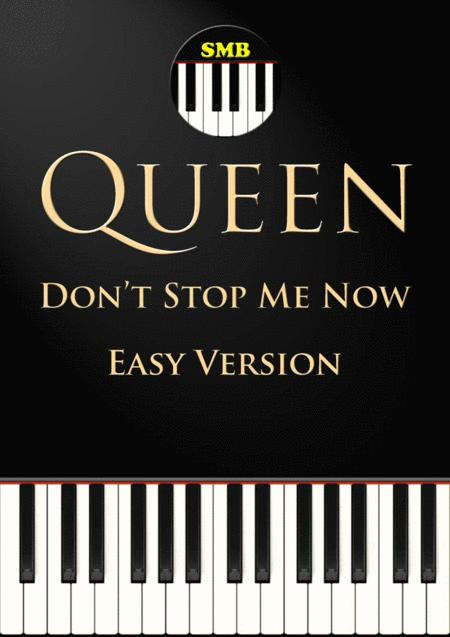 Don't Stop Me Now (Easy Piano)