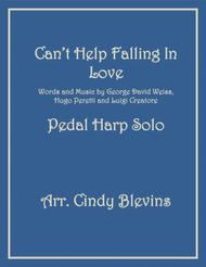 Can't Help Falling In Love, arranged for Pedal Harp