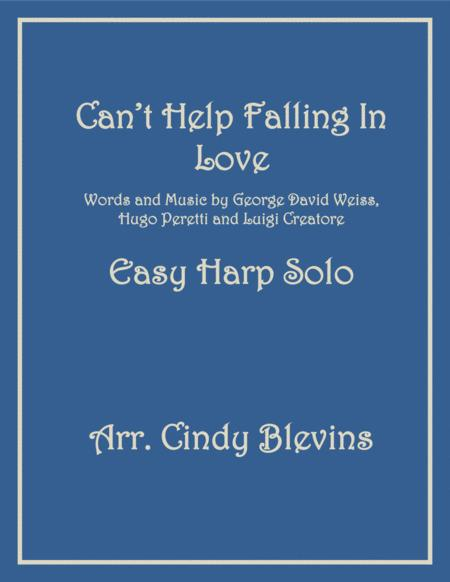 Can't Help Falling In Love, an arrangement for Easy Harp